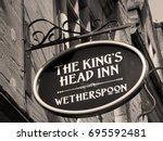 Sepia Jd Wetherspoon The Kings...