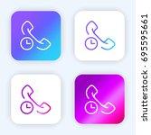 phone call bright purple and...