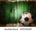 Football Grunge Background....