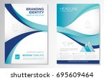 template vector design for... | Shutterstock .eps vector #695609464
