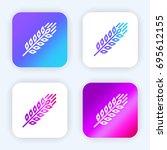 grain bright purple and blue...