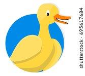 yellow duck icon app. yellow...