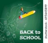 Back To School Chalkboard...