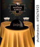 Vip Dinner Party Invitation...