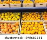 Fresh Juicy Oranges And...