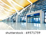 modern architecture of  airport ...