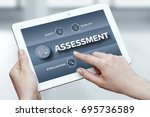 Small photo of Assessment Analysis Evaluation Measure Business Analytics Technology concept.