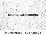 grunge vector background  black ... | Shutterstock .eps vector #695738875