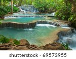 Kuang Si Waterfall  Luang...