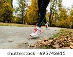 sport  fitness and exercise... | Shutterstock . vector #695743615