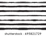 black and white seamles vector... | Shutterstock .eps vector #695821729