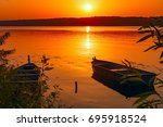 Two Fishing Boats Moored Near...
