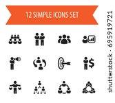 set of 12 editable community...