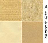 set of handmade paper textures   Shutterstock . vector #69594016