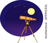 vector illustration of a... | Shutterstock .eps vector #695941531