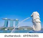 singapore   june 20  2014 ... | Shutterstock . vector #695961001