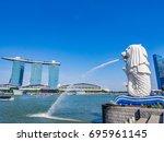 singapore   june 20  2014 ... | Shutterstock . vector #695961145