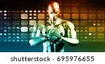 system integration solutions as ... | Shutterstock . vector #695976655