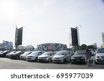 5th august 2017.kuantan pahang...   Shutterstock . vector #695977039