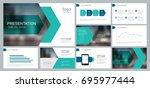 design template for business...   Shutterstock .eps vector #695977444