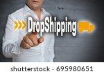 dropshipping touchscreen is... | Shutterstock . vector #695980651