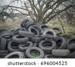 Tyres Dumped Around Damaged...