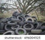 Tyres Dumped Around Damaged...