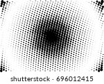 comic background. halftone... | Shutterstock .eps vector #696012415