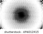 comic background. halftone...   Shutterstock .eps vector #696012415