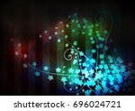 red gradient background with... | Shutterstock . vector #696024721
