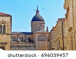 cathedral of assumption of... | Shutterstock . vector #696039457
