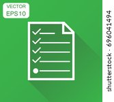checklist icon. vector...