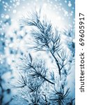 christmas background with... | Shutterstock . vector #69605917