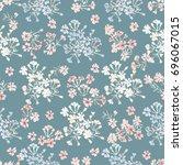 simple gentle pattern in small...   Shutterstock .eps vector #696067015