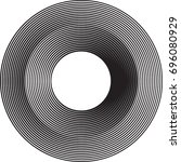 lines in circle form . vector... | Shutterstock .eps vector #696080929