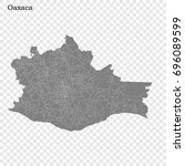 high quality map of oaxaca is a ...
