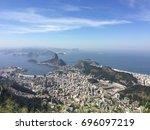 over view shot of escadaria do...   Shutterstock . vector #696097219