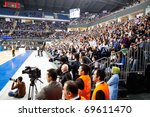 istanbul   january 20  crowded... | Shutterstock . vector #69611470
