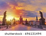 View Of Charles Bridge In...