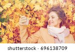season  technology and people... | Shutterstock . vector #696138709