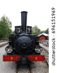 old steam locomotive | Shutterstock . vector #696151969