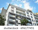 modern  luxury apartment...   Shutterstock . vector #696177451