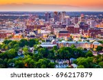 Small photo of Birmingham, Alabama, USA downtown city skyline.