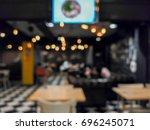 coffee shop or restuarant and... | Shutterstock . vector #696245071