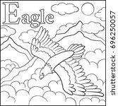 Coloring Page. Cartoon Animals...