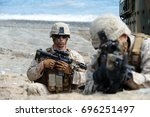 Us Marine Corps Soldiers...