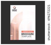 poster flyer pamphlet brochure... | Shutterstock .eps vector #696272221