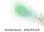 light green vector geometric... | Shutterstock .eps vector #696294124
