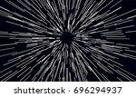 warp jump | Shutterstock .eps vector #696294937