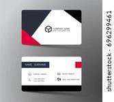 vector modern creative and... | Shutterstock .eps vector #696299461
